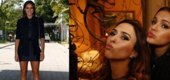 As protagonistas Bruna Marquezine e Tatá Werneck