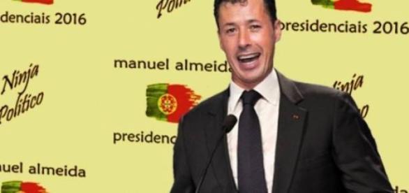 Candidato pretende impor respeito em Portugal.