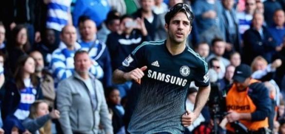 Cesc Fabregas scored a late winner for Chelsea