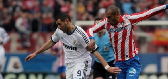 Duelo entre Atlético de Madri e Real Madrid