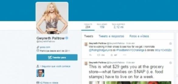 Gwyneth Paltrow gera polémica.