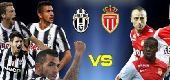 Juventus e Monaco em ação nesta terça (14).
