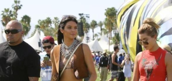 Kendall Jenner no Coachella 2015.