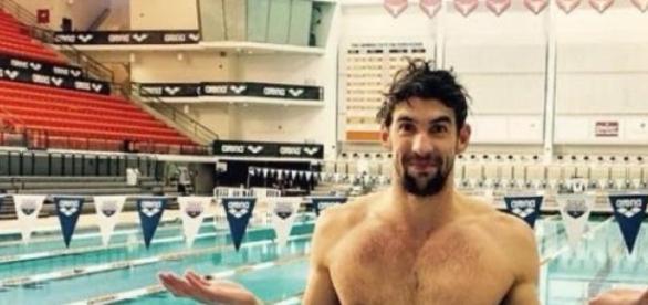 Michael Phelps de regresso