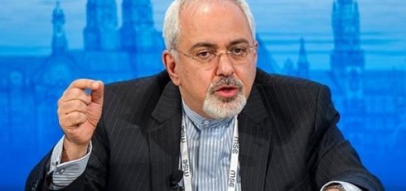 Mohannad Javad Zarif, ministro do Irã
