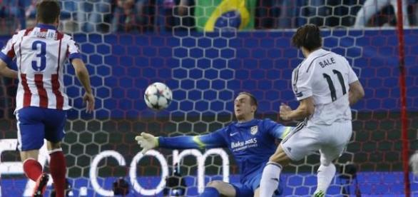 Oblak foi o grande destaque da partida.