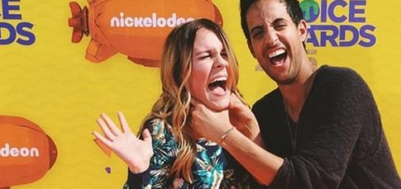 Sami Slimani und Dagi Bee: Kids Choice Awards.