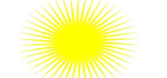 Sunshine forecast for many