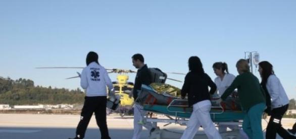 Um dos menores transferido para hospital de Lisboa
