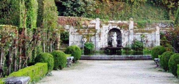 Jardim do Paço de São Cipriano.