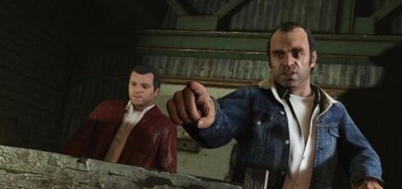 Michael i Trevor - dwaj główni bohaterowie