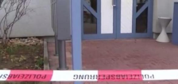Policyjne epitafium dla ofiary nożownika