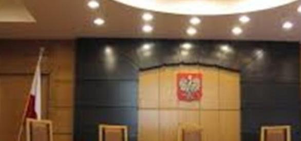 Trybunał Konstytucyjny- sala sądowa