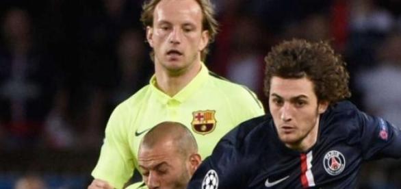 Lance de PSG 1x3 Barcelona
