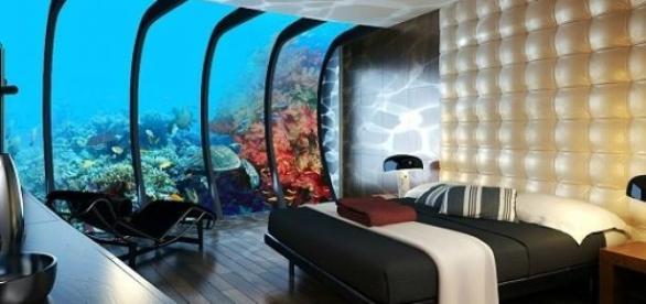 Poseidon Undersea Resort, hotel subacvatic complet