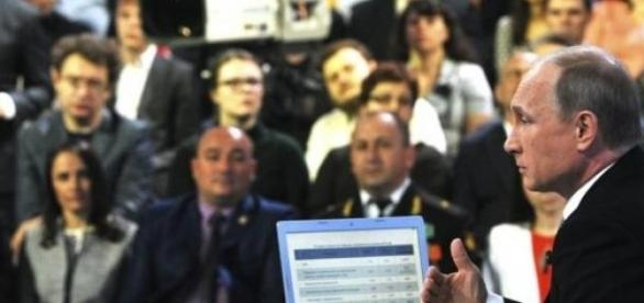 Putin odpowiada na pytania (The Moscow Times)