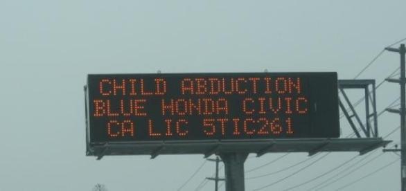 Znak drogowy- Child Alert