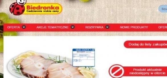 Biedronka wycofuje zatruty stek z rekina
