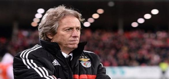 Jorge Jesus, técnico do Sport Lisboa e Benfica.