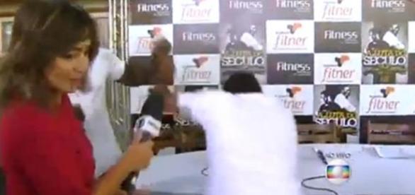 Link ao vivo da Globo termina em pancadaria