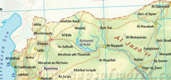 Siria, stat din Orientul Mijlociu