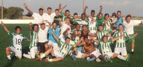 A equipa do Atlético de Reguengos