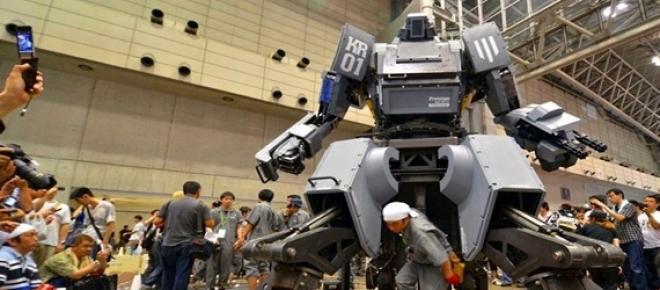 Robô gigante, máquina assassina para guerra
