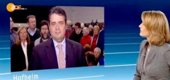 Interview mit SPD-Chef hat Kultstatus, Foto: ZDF