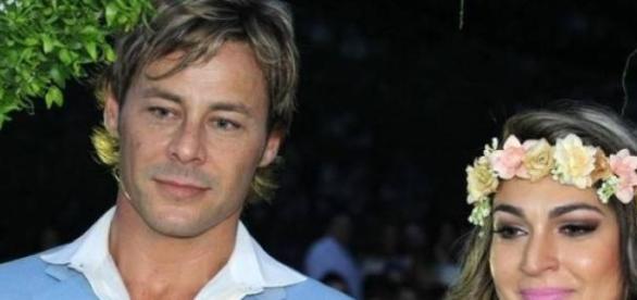 Theo Becker e Raphaela Lamim se casam