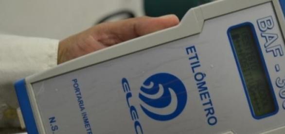 Bafômetro da ELEC (Foto: Reprodução)
