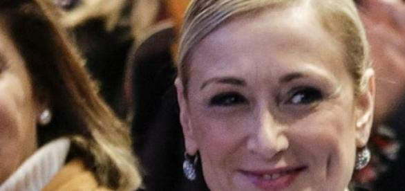 Cristina Cifuentes en un evento