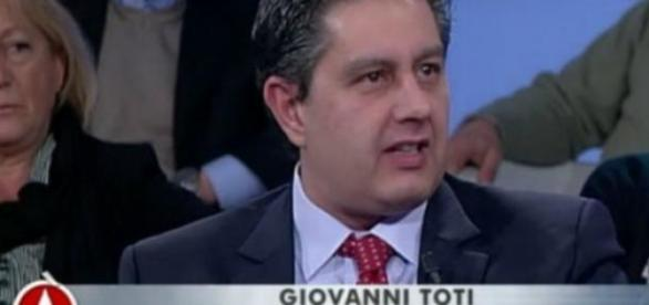 Giovanni Toti ad Agorà stamane