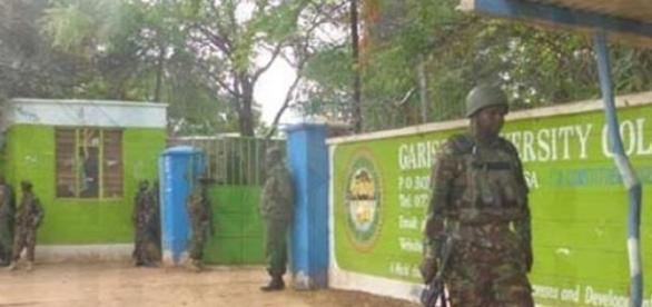 Kenyan Troops at Garissa University College
