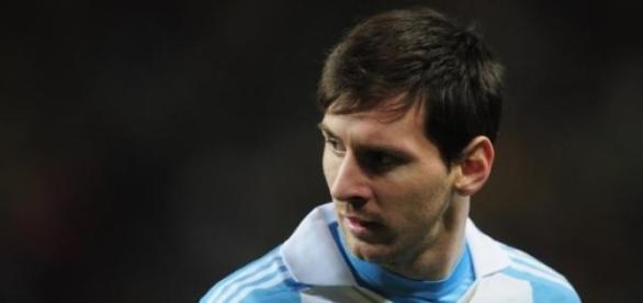Leo Messi, el capitán de la selección