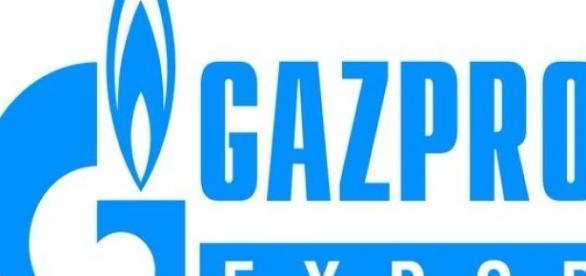 Logo rosyjskiego Gazpromu