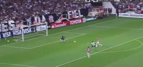 Reprodução/TV Globo - Corinthians x São Paulo
