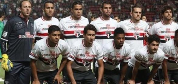 Time do São Paulo na Argentina