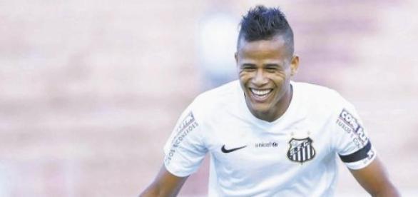 Geuvânio: destaque na vitória contra o São Paulo