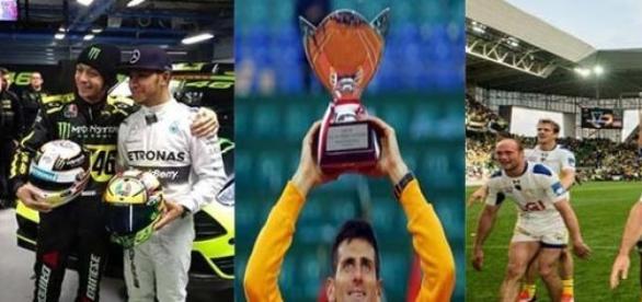Hamilton, Rossi, Djoko et les Rugbymen clermontais