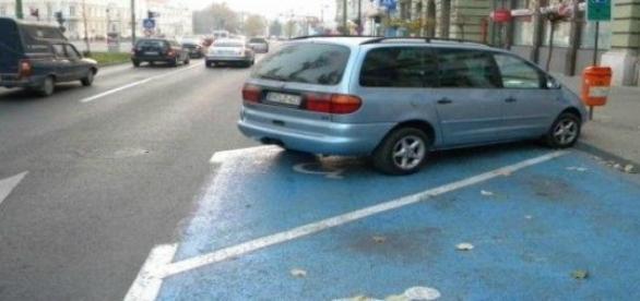 Parcarile destinate persoanelor cu handicap