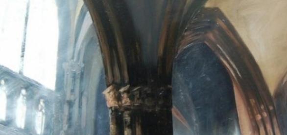 Une oeuvre du peintre Patrick Bastardoz