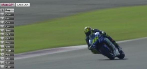 Valentino Rossi en el GP de Argentina