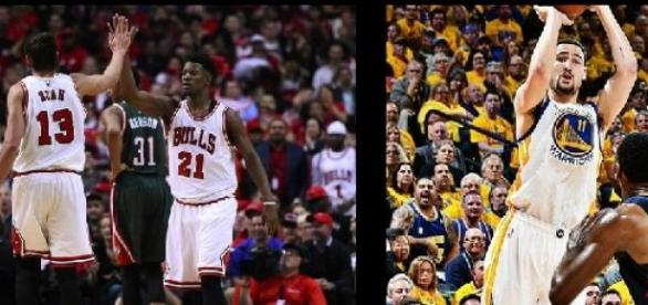Bulls e Warriors vencem nesta terça feira
