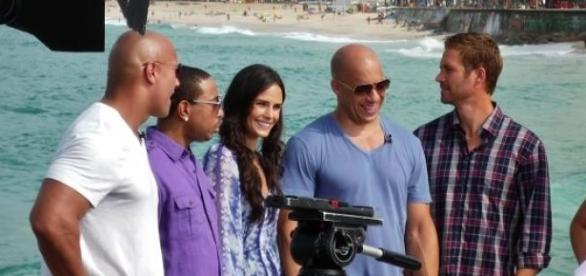"Les acteurs de ""Fast and Furious 7"""