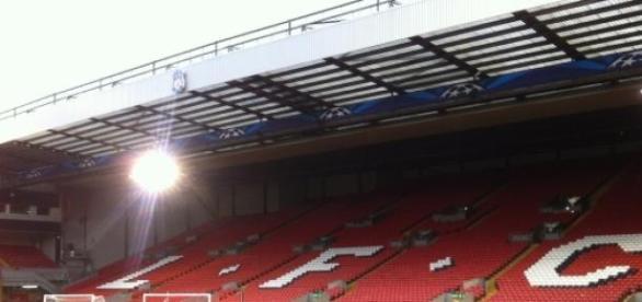 The Kop, una de las gradas del estadio de Anfield