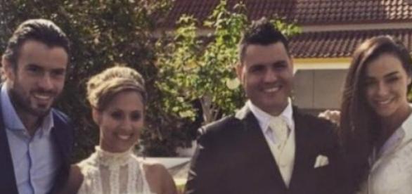 Vera e João Jesus casaram no passado sábado