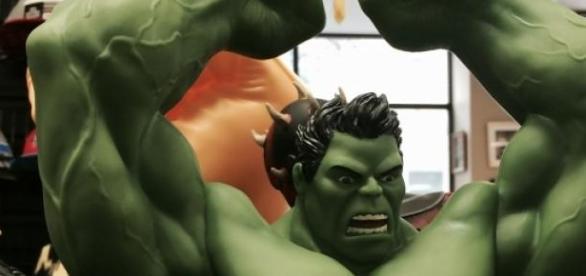 Auch diesmal dabei: Hulk, der Schreckliche.