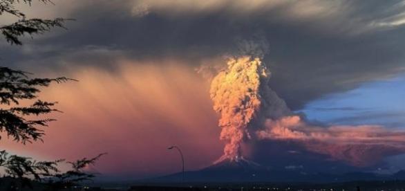 El volcán Calbuco en Chile