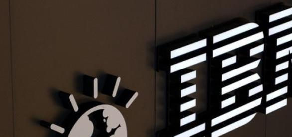 Logo da empresa IBM nos Estados Unidos