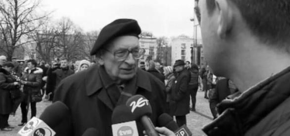 Władysław Bartoszewski/fot. TVN24/x-news